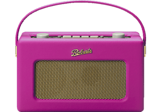 ROBERTS Revival RD60 DAB+ Radio (FM, UKW, DAB+, Neonpink)