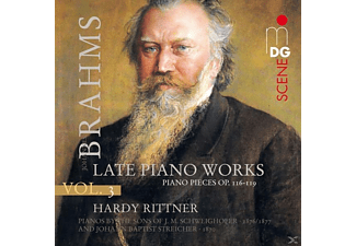 Hardy Rittner - Piano Works 3, Op.116-119 [Hybrid SACD] - (CD)