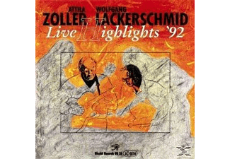 Attila Zoller, Wolfgang Lackerschmid - Live Highlights '92 - (CD)