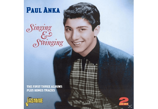Paul Anka - Singing & Swinging [CD]