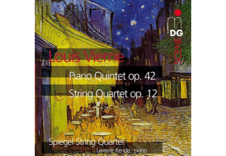 Levente Kende - STRING QUARTET OP12/PIANO QUARTET O - (CD)