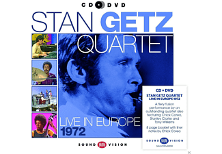 Stan Quartet Getz - Live In Europe 1972 [CD + DVD]