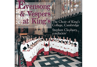 Kings College Choir Cambridge, The Choir Of King's College - Evensong & Vespers At King's - (CD)