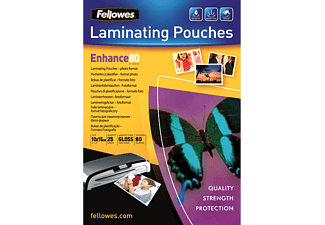 FELLOWES Pochettes brillantes pour photo 80 micron (5440602)