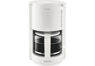 krups f 309 7c proaroma wei filterkaffee maschinen online kaufen bei mediamarkt. Black Bedroom Furniture Sets. Home Design Ideas
