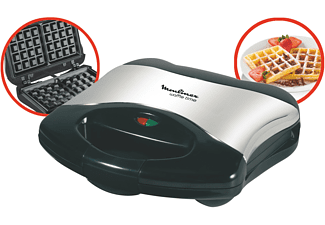 moulinex waffeleisen edelstahl wd 1508 sandwichmaker. Black Bedroom Furniture Sets. Home Design Ideas