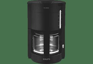 krups glas kaffeemaschine pro aroma schwarz filterkaffeemaschine kaufen bei saturn. Black Bedroom Furniture Sets. Home Design Ideas