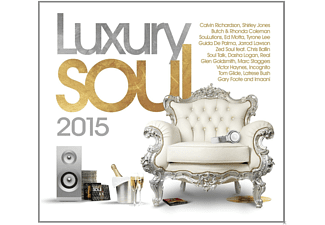 VARIOUS - Luxury Soul 2015 [CD]