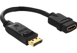purelink adapterkabel displayport hdmi 0 1 m mediamarkt. Black Bedroom Furniture Sets. Home Design Ideas