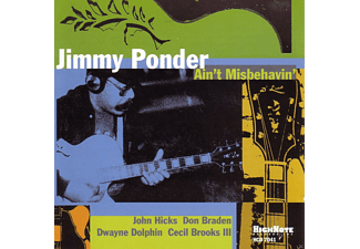 Jimmy Fats Ponder - Ain't Misbehavin' - (CD)