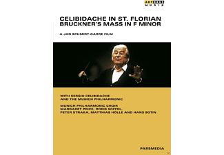 Margaret Price, Doris Soffel, Peter Straka, Matthias Hölle, Munich Philharmonic Choir, Hans Sotin, The Munich Philharmonic - Celibidache In St.Florian - Bruckner's Mass In F Minor - (DVD)