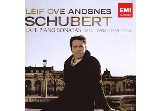 Leif Ove Andsnes - Schubert  The Late Piano Sonat - (CD)