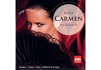 Fruehbeck, Freni, Vickers, Bumbry, Bumbry/Vickers/Freni/Frühbeck - Carmen-Highlights - (CD)