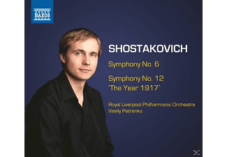 Vasily & Royal Liverpool Philharmonic Orchestra Petrenko, Petrenko/Royal Liverpool PO - Sinfonie 6+12 - (CD)