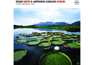 GETZ,STAN QUARTET & JOBIM,ANTONIO CARLOS, Jobim, Antonio Carlos / Getz, Stan - Their Greatest Hits - (CD)