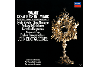 VARIOUS, John Eliot/ebs/monteverdi Choir Gardiner - Messe C-Moll Kv 427 - (CD)