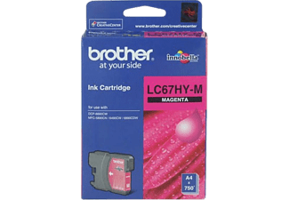 BROTHER LC67HY-M Magenta Kartuş
