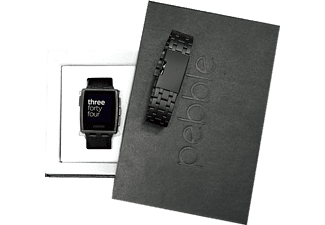 PEBBLE Black Steel Giftbox