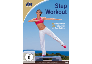 Fit For Fun - Step Workout - Bodyformer & Fatburner mit Fun-Faktor - (DVD)