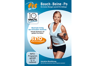 Fit For Fun - 10 Minute Solution: Bauch, Beine Po für Anfänger - (DVD)