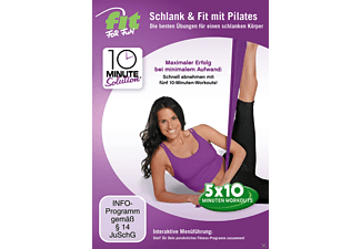 Fit For Fun - 10 Minute Solution: Schlank & Fit mit Pilates - (DVD)