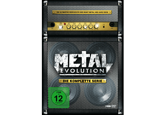 Metal Evolution - Die komplette Serie - (DVD)