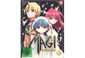 Magi - The Labyrinth of Magic - Box 4 - (DVD)