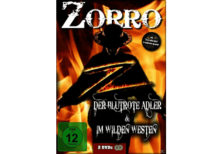 Zorro Double Feature - Der blutrote Adler / Zorro im wilden Westen [DVD]