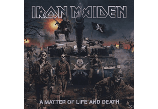 Iron Maiden - A Matter Of Life And Death [CD]