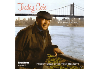 Freddy Cole - Because Of You - (CD)