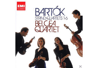Belcea Quartet - Bartok  Complete String Quartet - (CD)