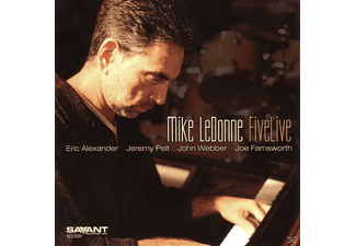 Mike Ledonne - Five Live - (CD)