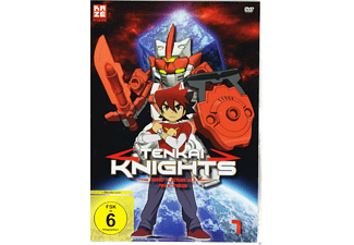 001 - TENKAI KNIGHTS [DVD]