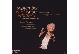 Wesla Whitfield - September Songs - (CD)