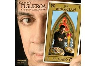 Sammy Figueroa - The Magician - (CD)