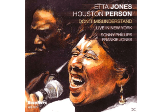 Etta Jones - Don't Misunderstand - (CD)