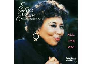 Etta Jones - All The Way - (CD)