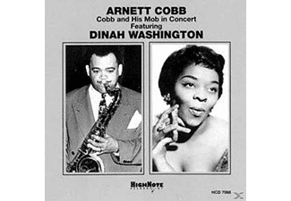 Cobb,Arnett Featuring Washington,Dinah - Cobb And His Mob In Concert - (CD)