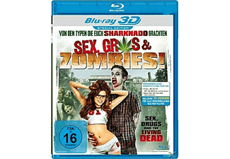 Sex, Gras & Zombies! - (3D Blu-ray)