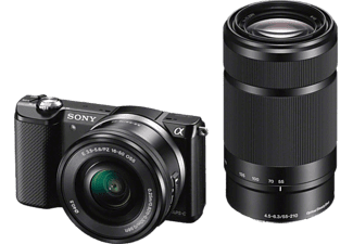 SONY ILCE 5000 YB KIT SELP1650 + Φακός 55-210mm