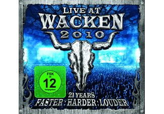 VARIOUS - Wacken 2010-Live At Wacken Open Air Incl.Bluray [CD + Blu-ray Disc]