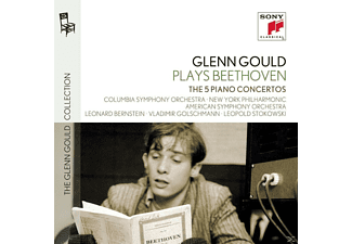 Various Composers, Glenn Gould, VARIOUS - The 5 Piano Concertos - (CD)