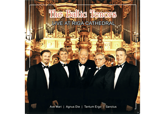 The Baltic Tenors - Live At Riga Cathedral - (CD)