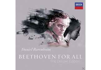 Daniel/west Eastern Divan Orchestra/sb Barenboim - Beethoven For All (Deluxe Edt.) - (CD + DVD Video)