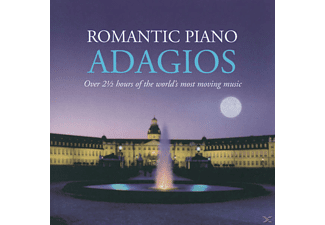 VARIOUS - Romantic Piano Adagios [CD]