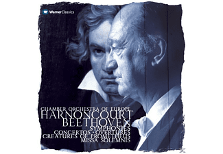 Nikolaus Harnoncourt - Complete Beethoven Recordings [CD]