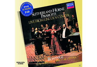 Luciano Pavarotti, Pavarotti/Sutherland/Horne/+ - Live From The Lincoln Center - (CD)