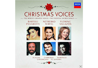 VARIOUS, Alagna/Bartoli/Domingo/Fleming/Netrebko/+ - Christmas Voices [CD]