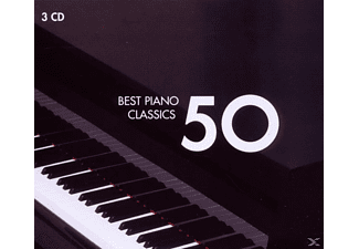 VARIOUS - 50 Best Piano - (CD)