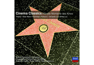 VARIOUS, Mauceri/Mehta/Williams/+ - Cinema Classics-Grosse Momente Des Kinos (Cc) [CD]